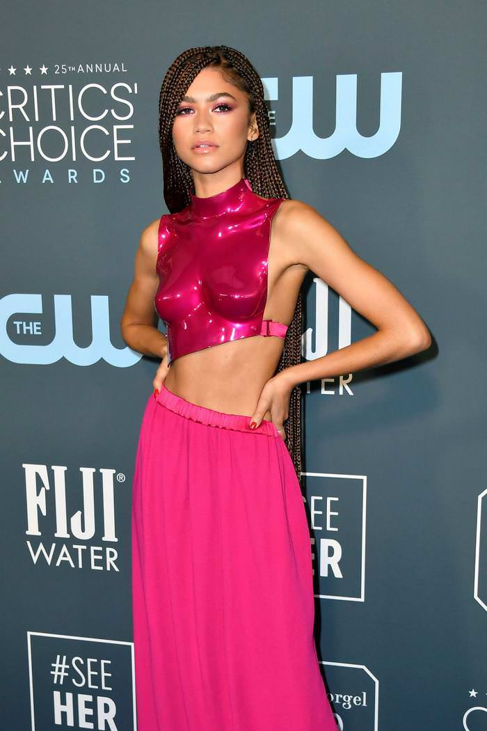 Zendaya Coleman at Critics Choice Awards 2020