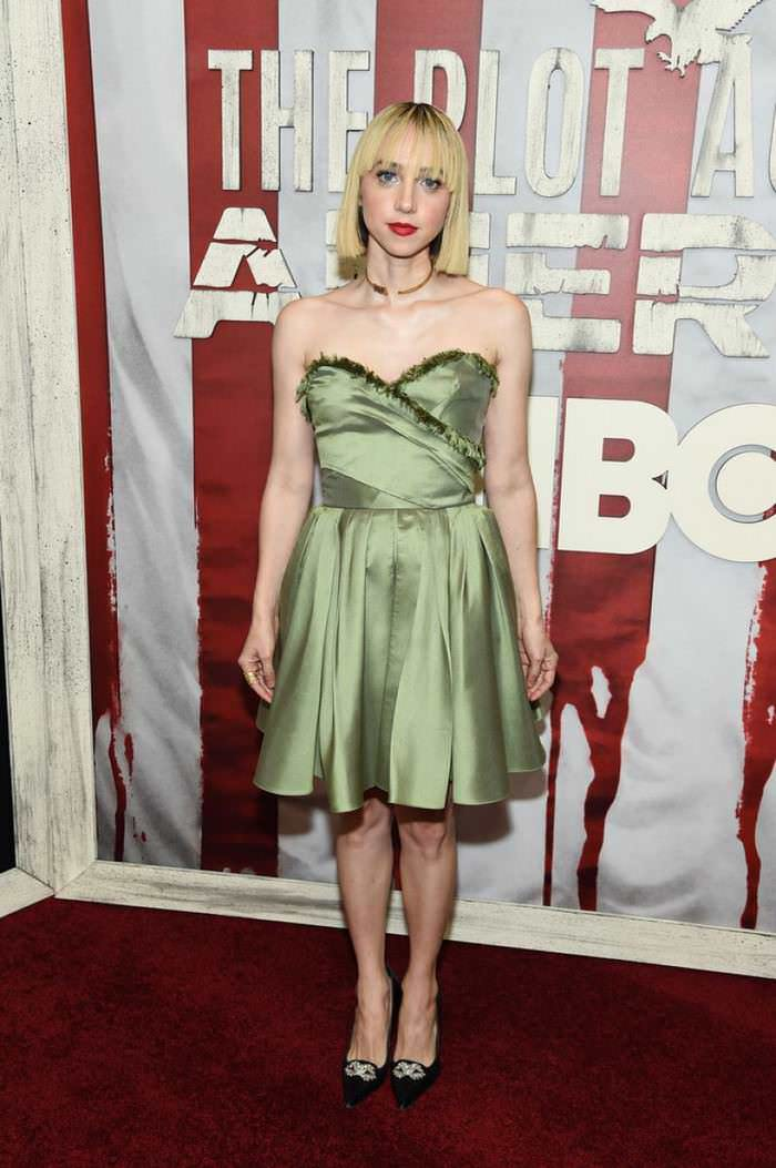 Zoe Kazan at The Plot Against America Premiere in NYC