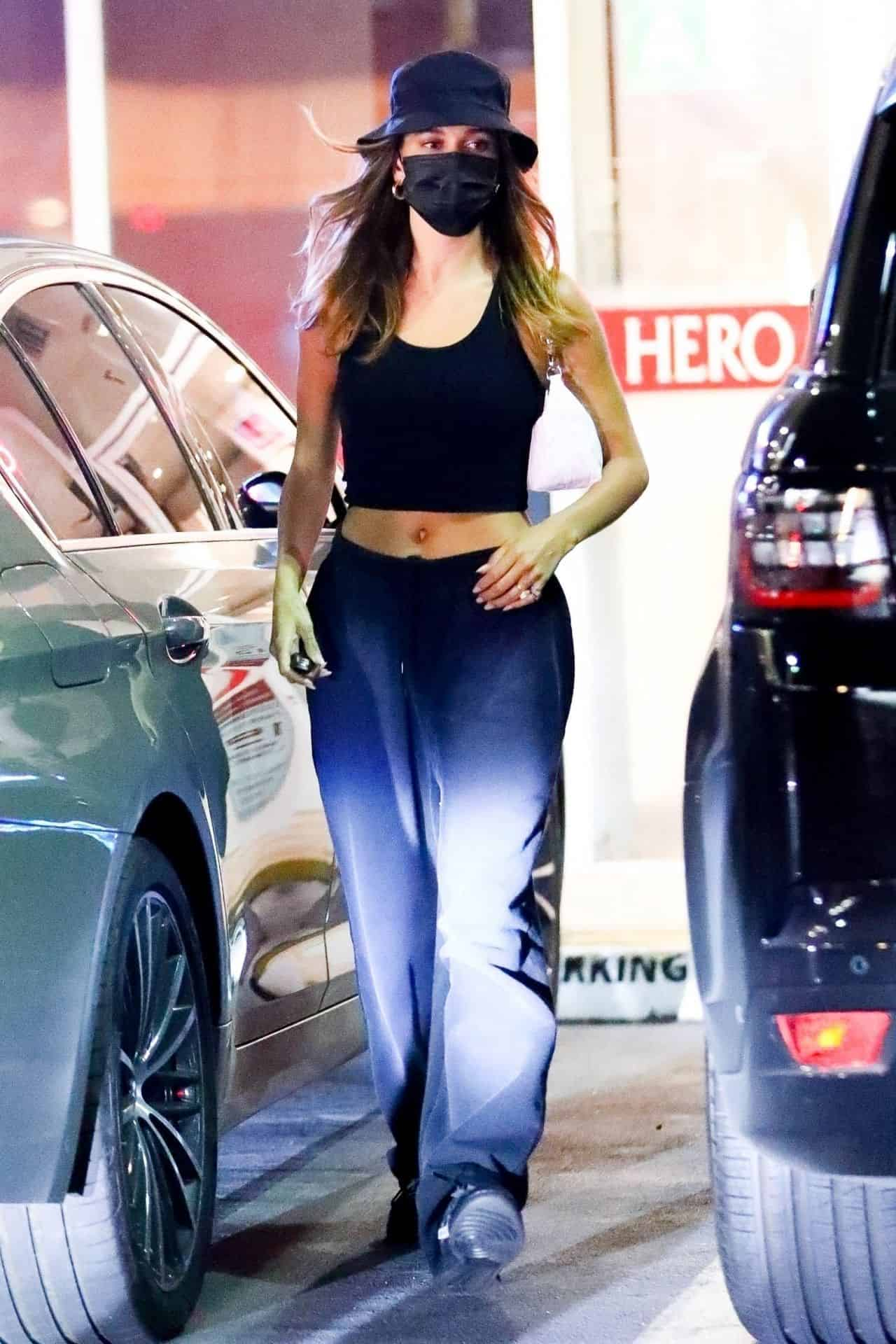 Hailey Rhode Bieber Goes Out To Do Some Stuff in LA in Baggy Sweats