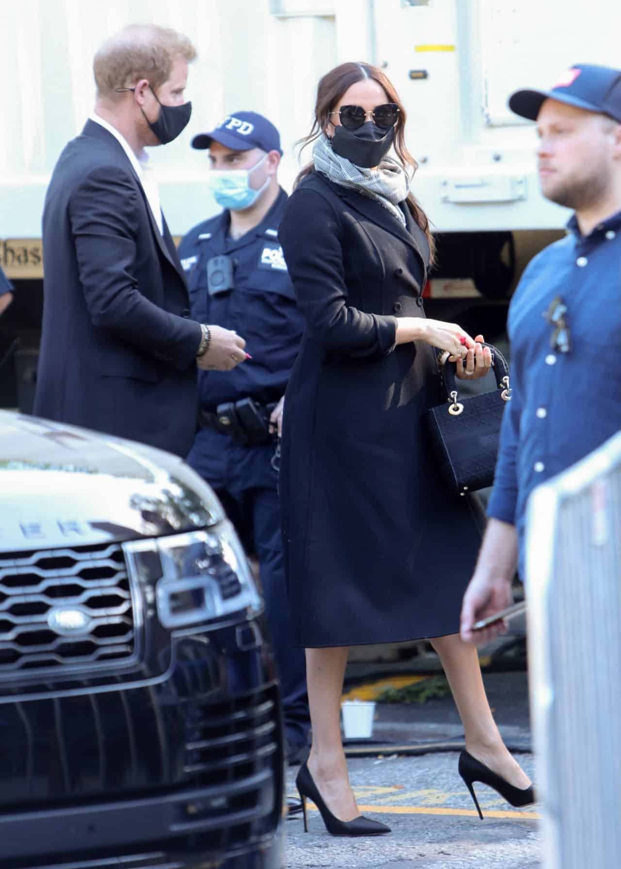 Meghan Markle Arrives at Global Citizens Concert in NY