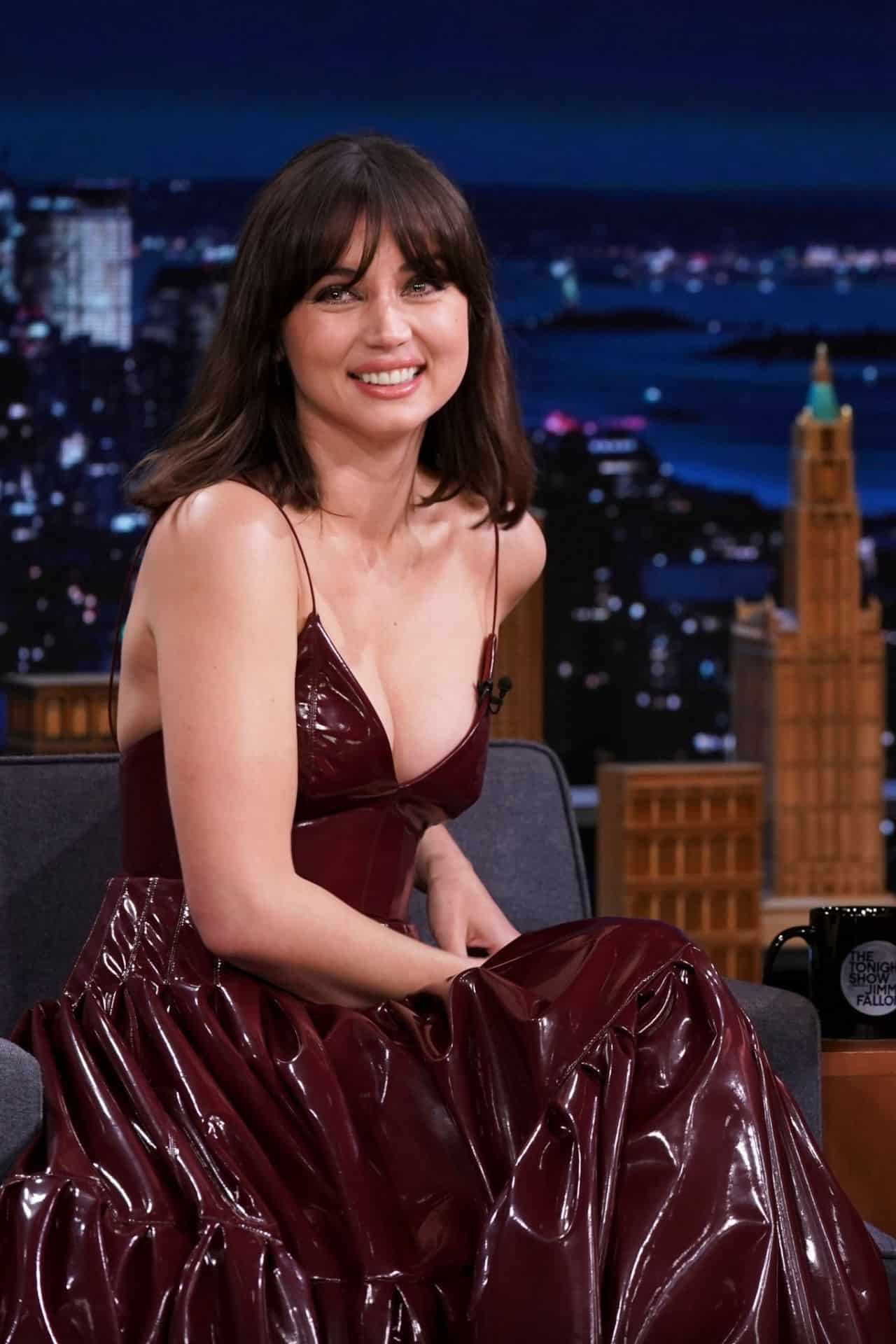 Ana de Armas Attends The Tonight Show Starring Jimmy Fallon in NYC