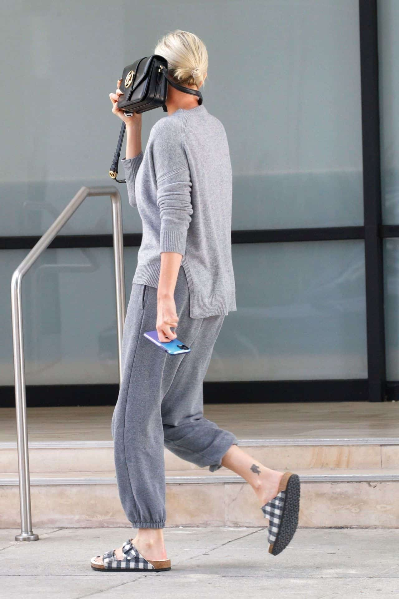 Charlize Theron Went Out without Makeup to Run Errands in Beverly Hills