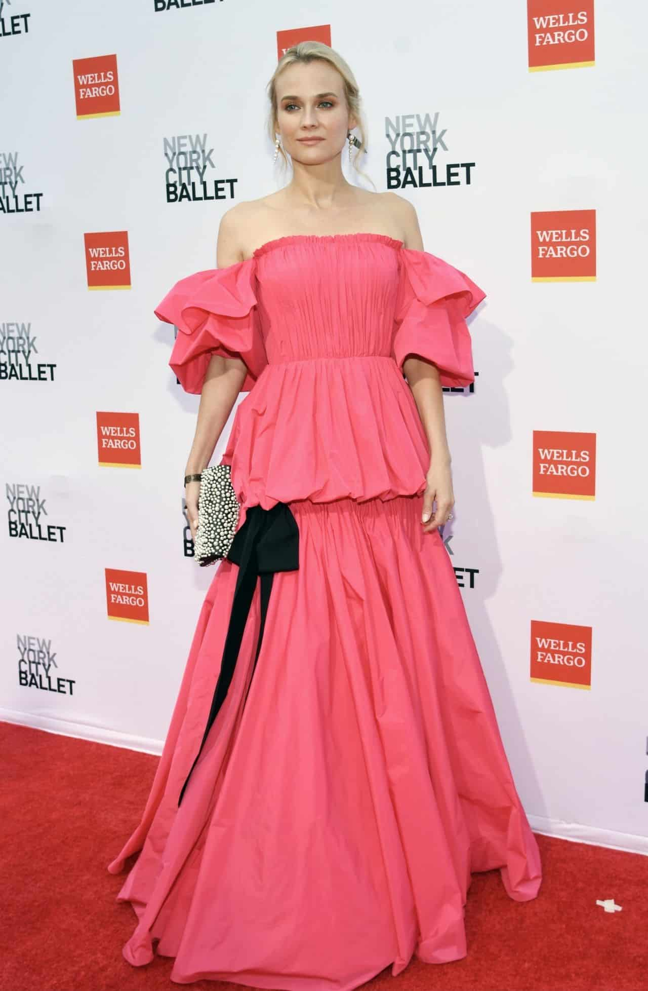 Diane Kruger Shines on the Red Carpet at NYC Ballet's Fall Fashion Gala