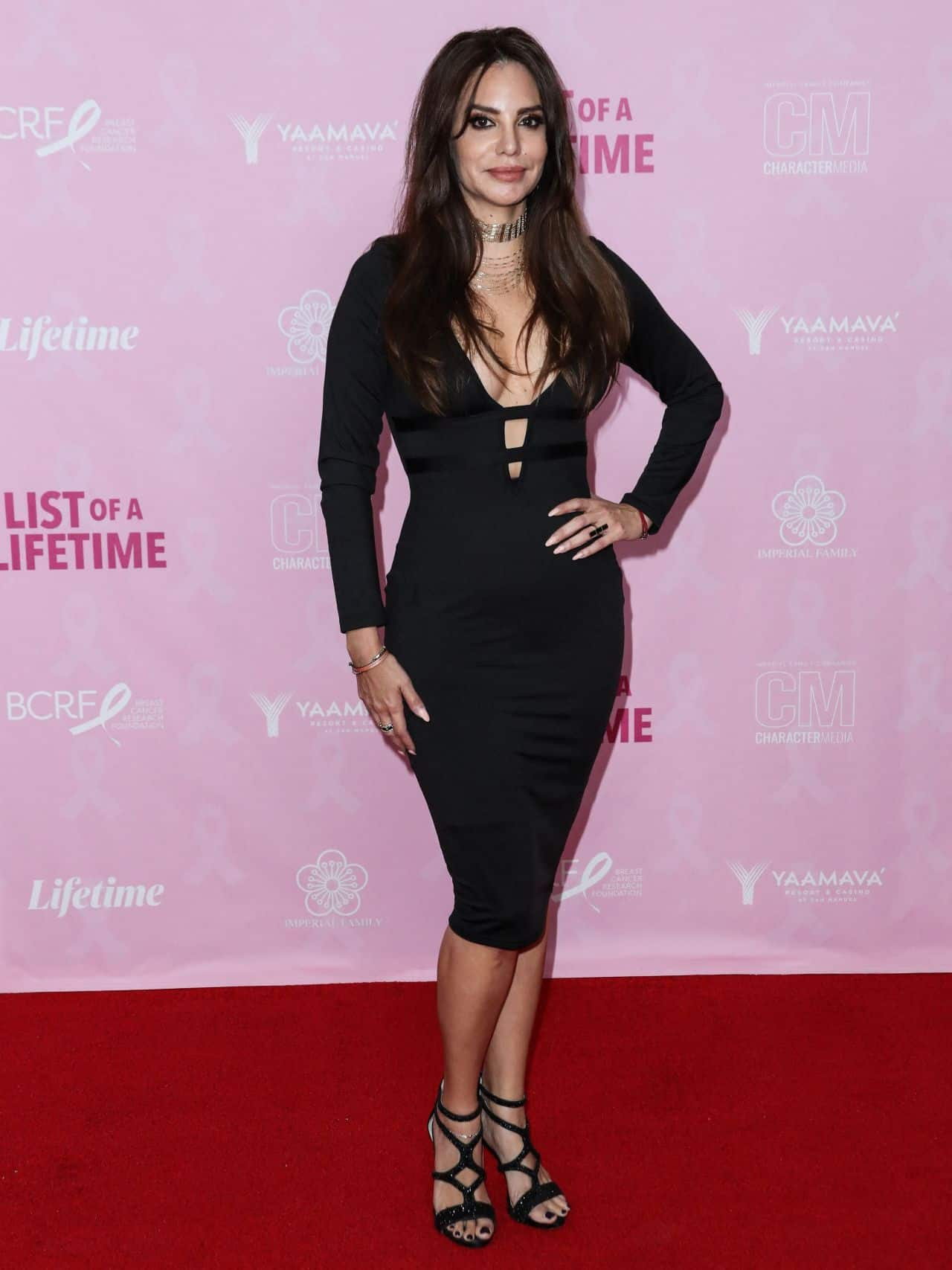 """Leticia Jimenez on the Red Carpet at the """"List Of A Lifetime"""" Premiere"""