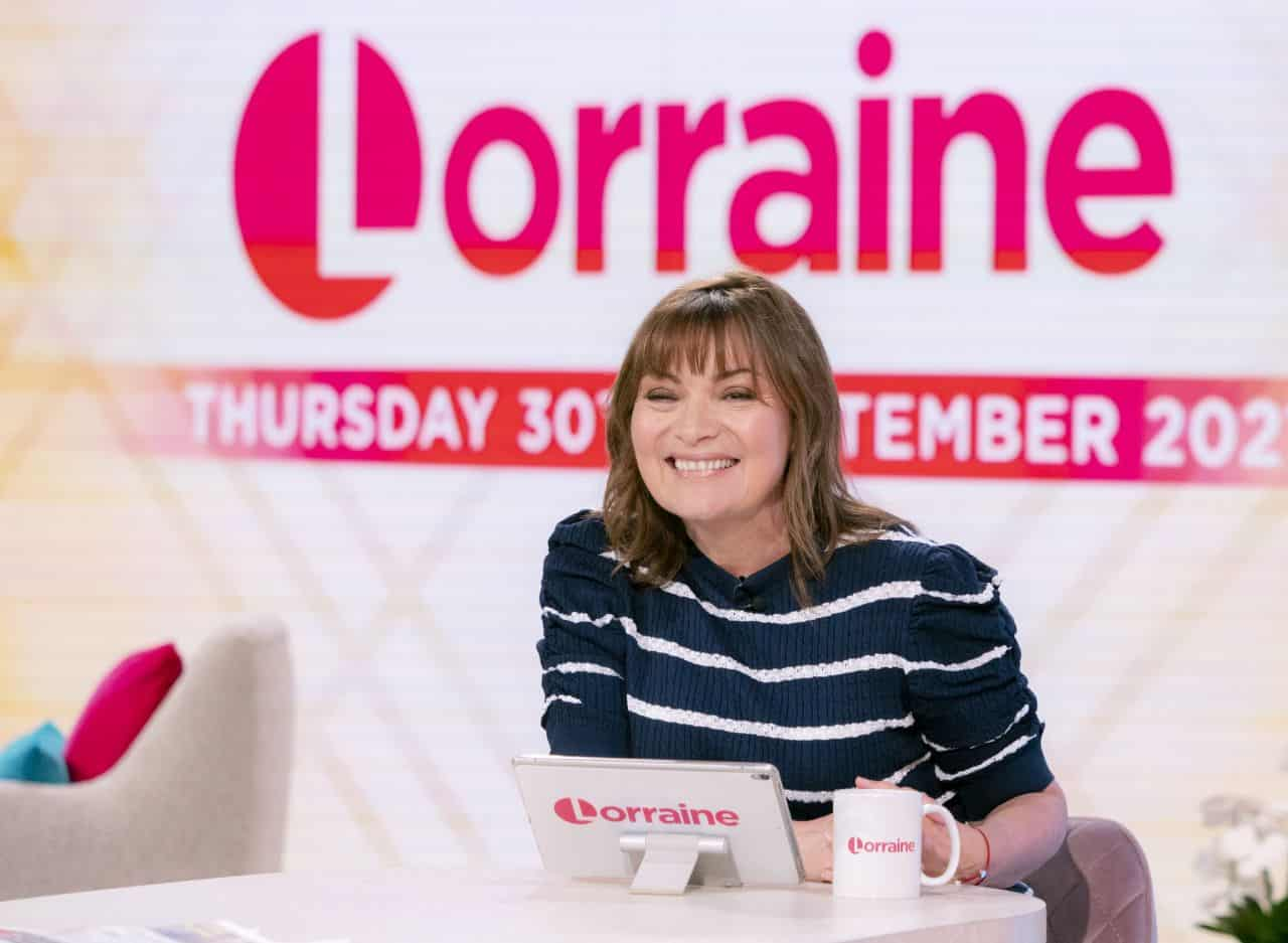 Lorraine Kelly on the Set of the Lorraine TV Show in London