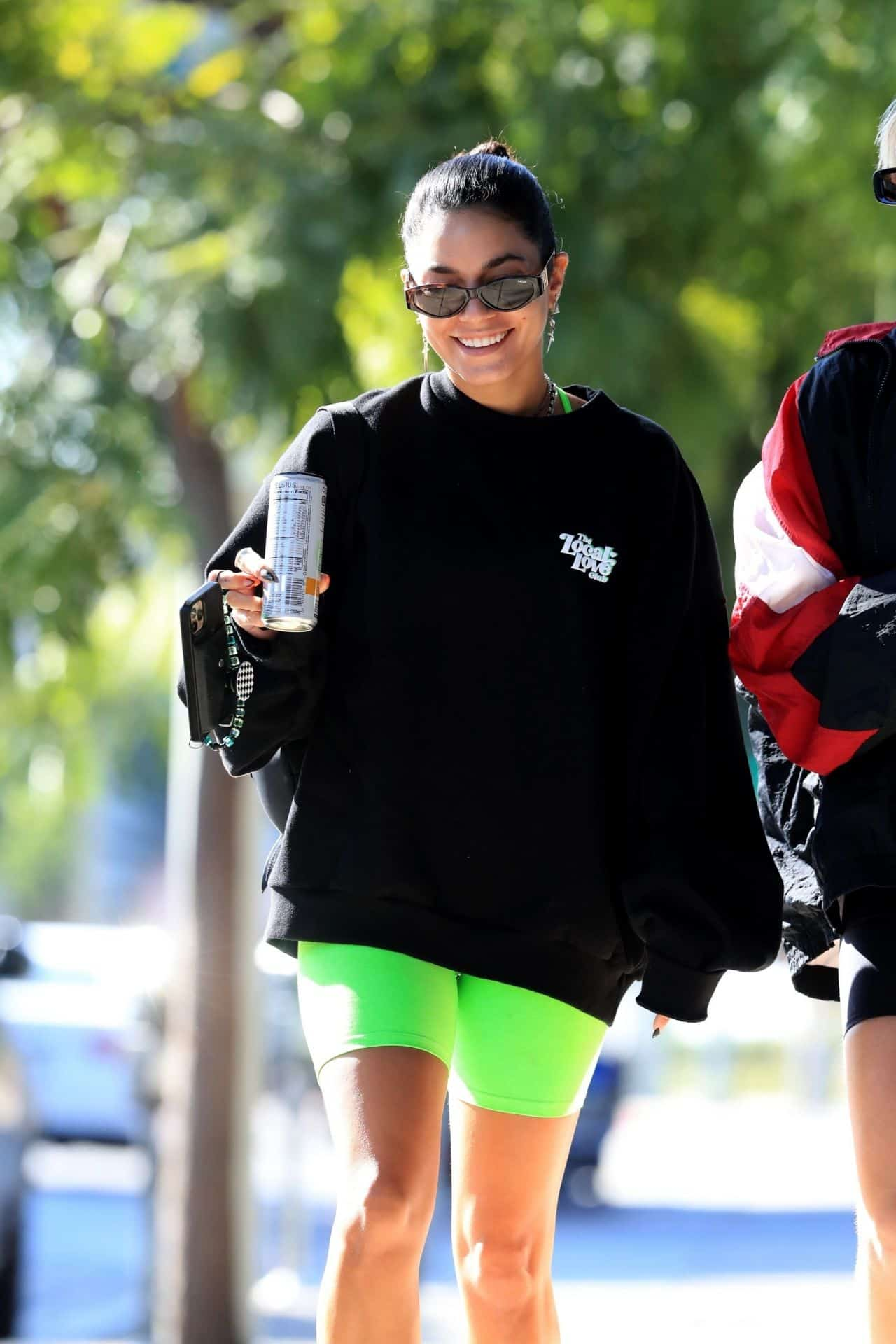 Vanessa Hudgens is Having a Fantastic Time in West Hollywood with her BFF