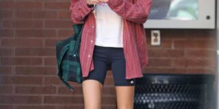 Cara Delevingne Looks Great in Bike Shorts as She Heads Out in Beverly Hills